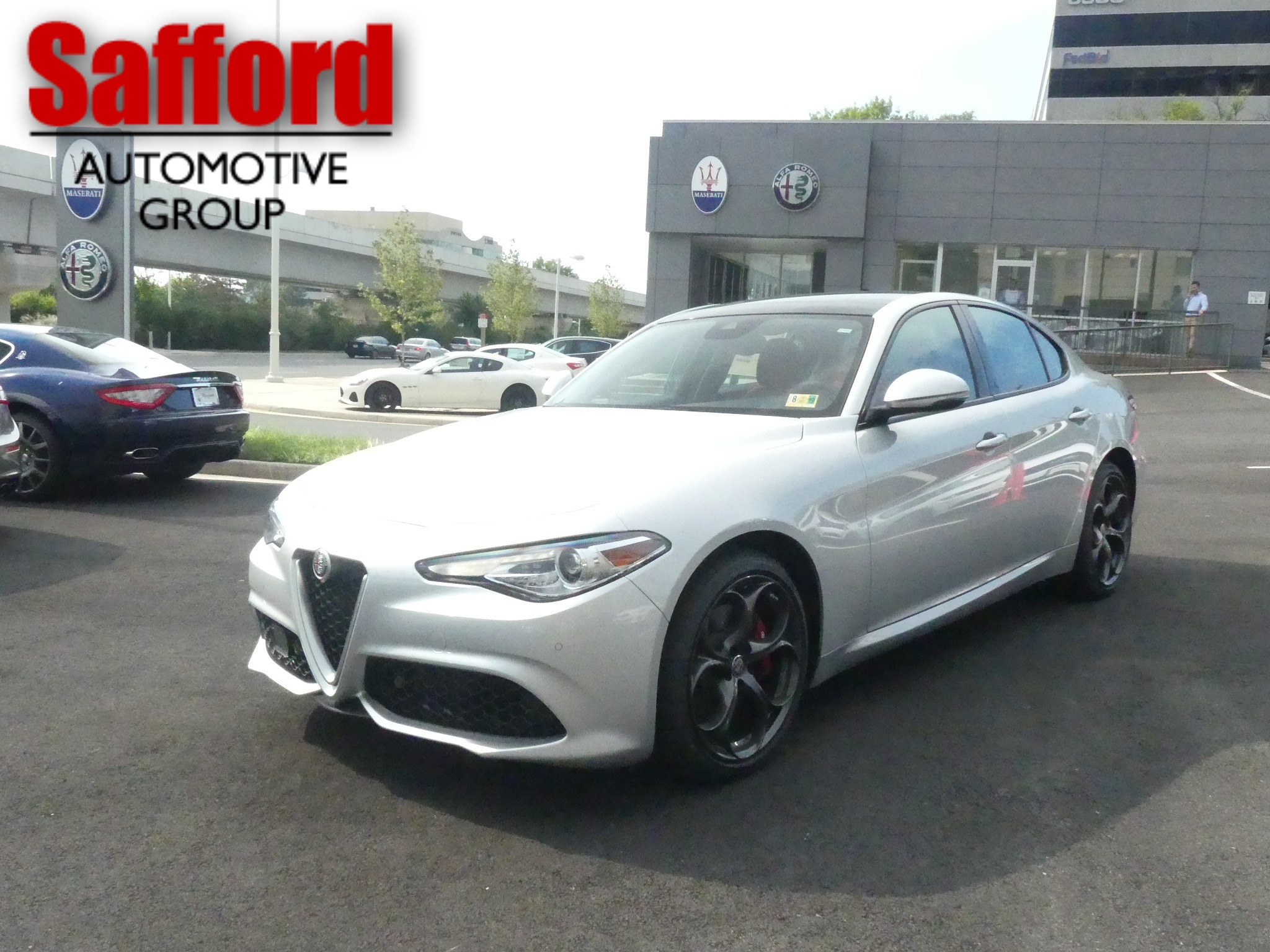 New 2018 Alfa Romeo Giulia Ti 4dr Car in Vienna DX