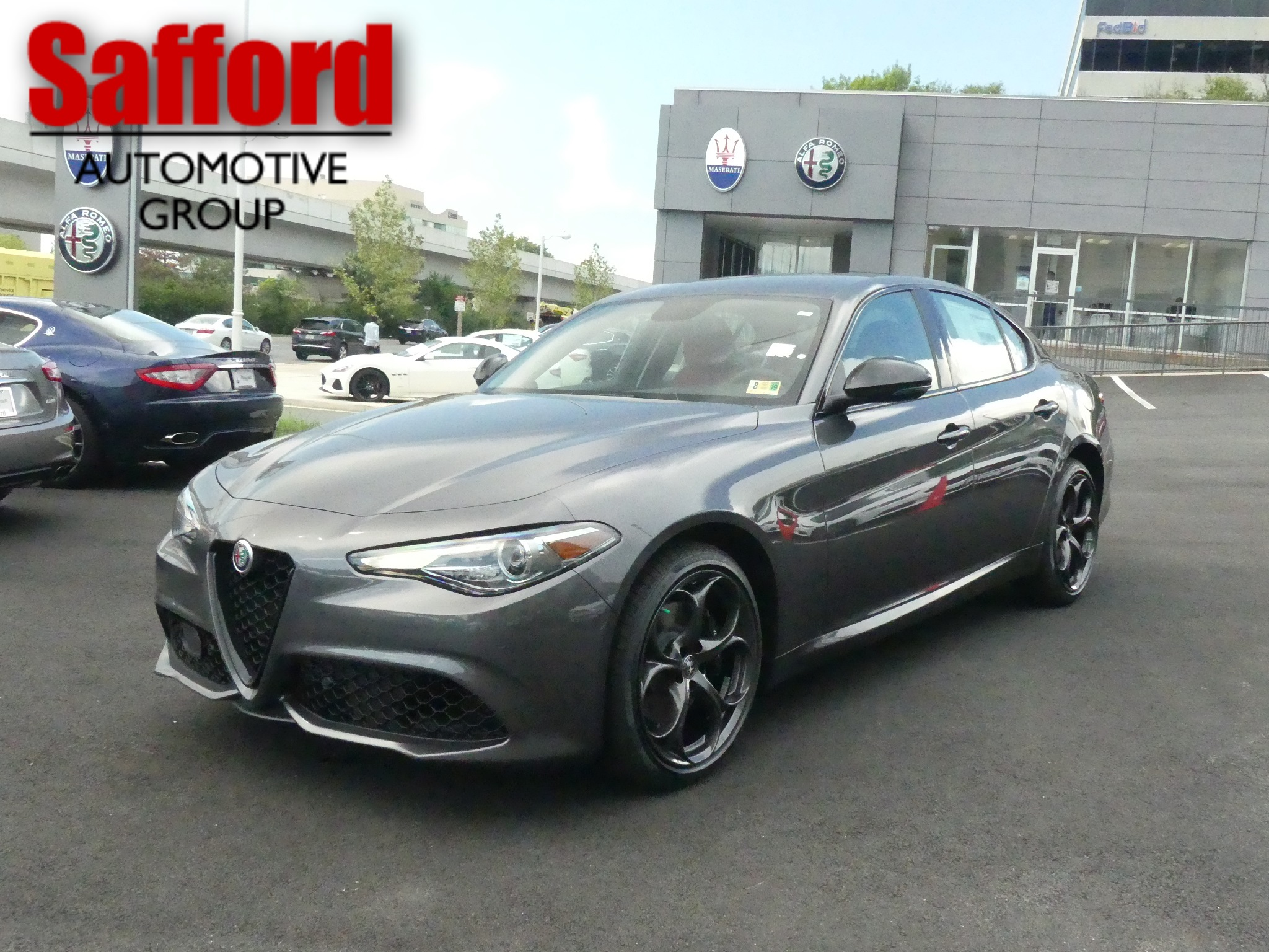 New 2018 Alfa Romeo Giulia Ti 4dr Car in Vienna J